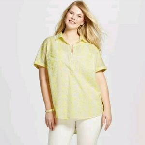 🌵3 for $25 Merona Embroidered Spring Top